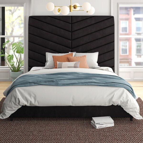 Debbra Upholstered Platform Bed by Foundstone