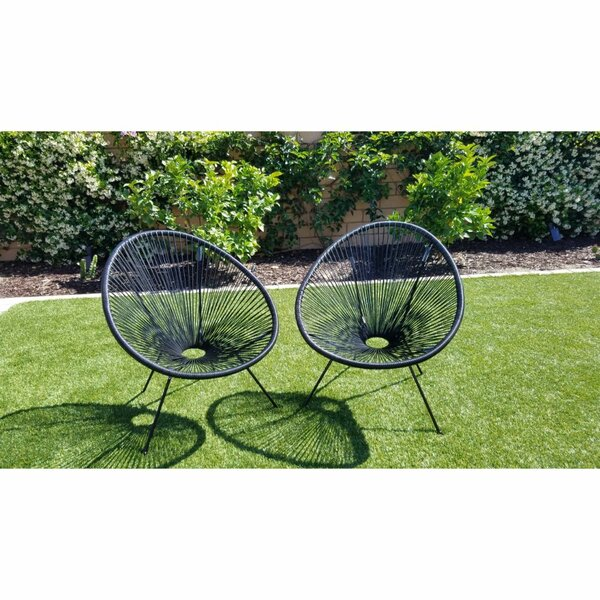 Bovina Patio Chair (Set of 2) by Ivy Bronx
