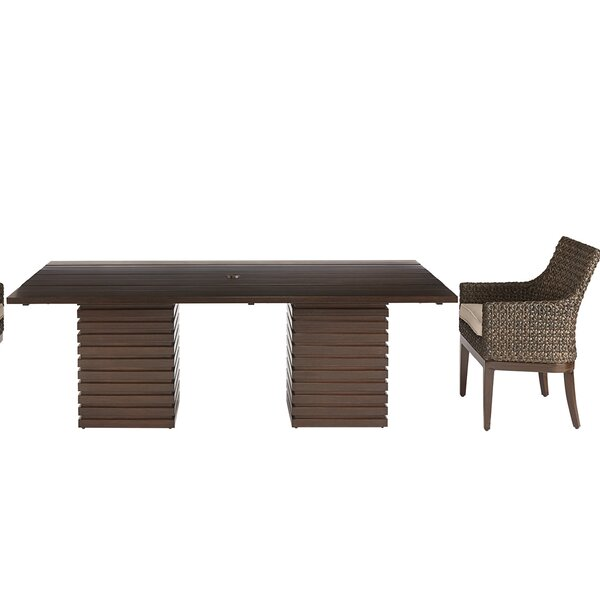 Asphodèle Outdoor Rectangle 2 Piece Dining set by Gracie Oaks