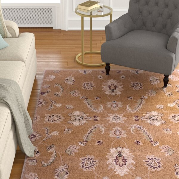 Enola Gold Area Rug by Alcott Hill