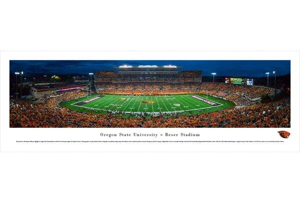 NCAA Oregon State University - Civil War by James Blakeway Photographic Print by Blakeway Worldwide Panoramas, Inc