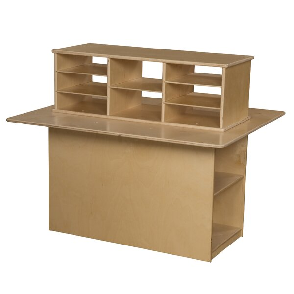 Junior Double Sided 12 Compartment Cubby by Wood Designs