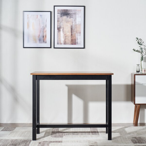 Michiana Counter Height Rubberwood Dining Table by Ebern Designs