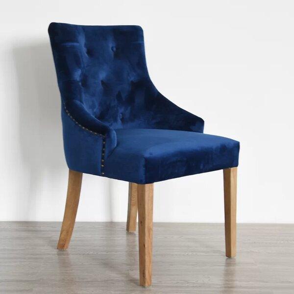 Dormody Velvet Upholstered Dining Chair By Rosdorf Park