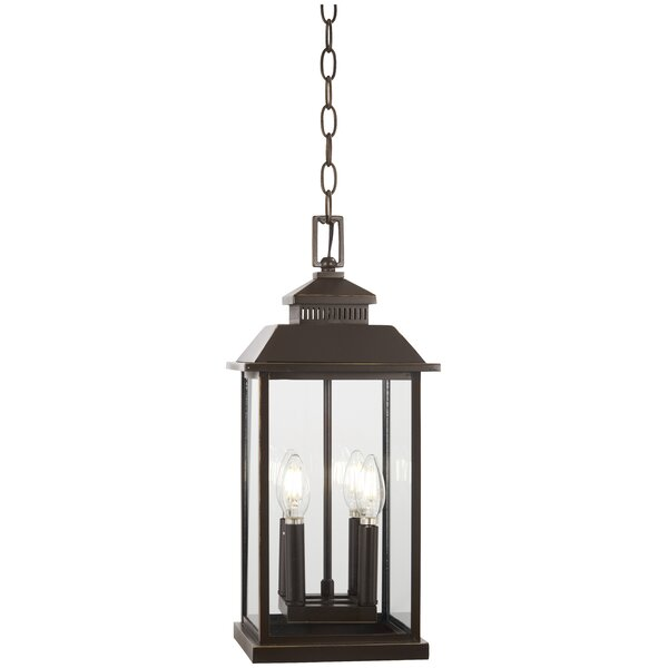 Menahan 4-Light Outdoor Hanging Lantern by Alcott Hill
