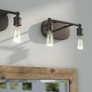 Check Prices Agave 2-Light Vanity Light ByLaurel Foundry Modern Farmhouse