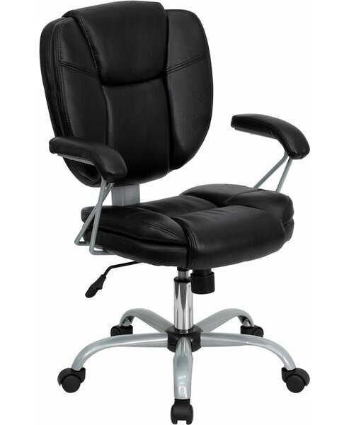 Kropp Mid-Back Swivel Office Chair by Symple Stuff