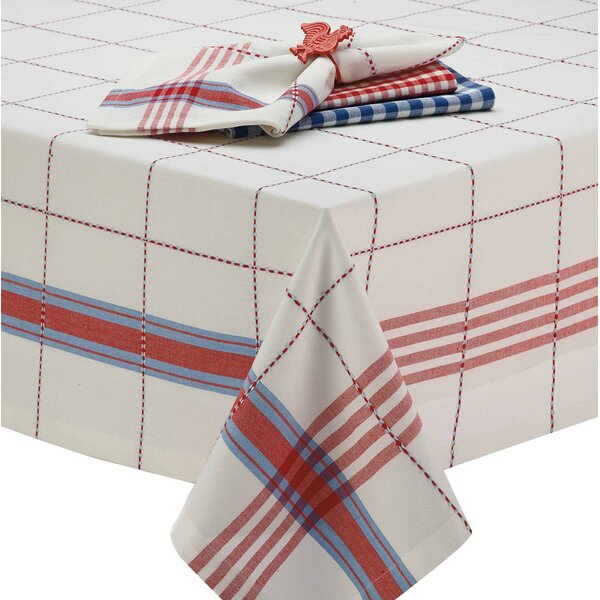 Coopeville Plaid Tablecloth by Design Imports