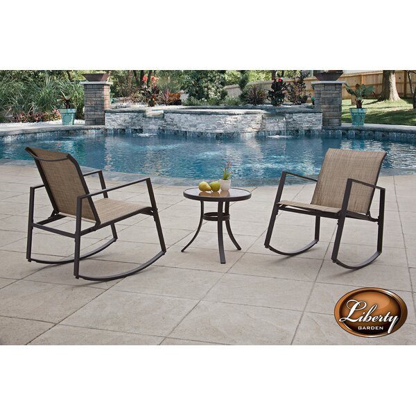 Aurora Sling Rocking Chair by Liberty Garden Patio