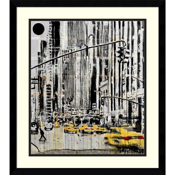 Somewhere in New York City Framed Graphic Art by Brayden Studio