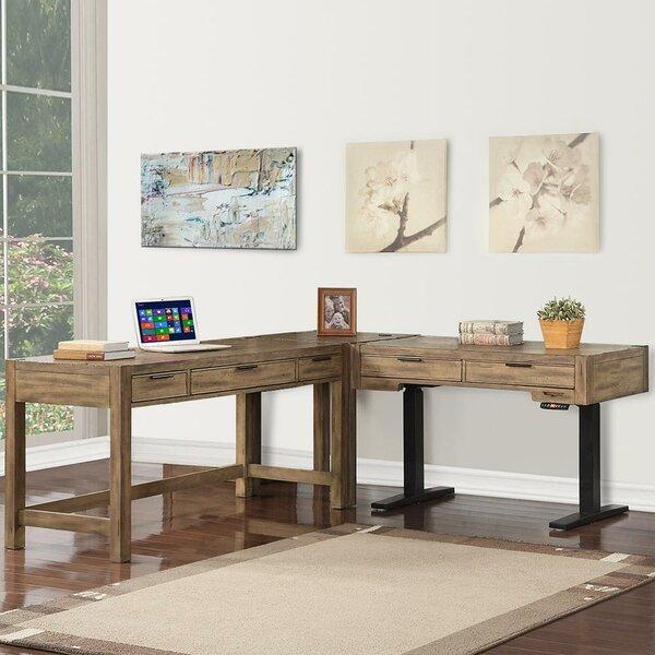 Coso Height Adjustable L-Shape Desk