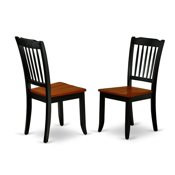 Valley Solid Wood Dining Chair (Set of 2) by Winston Porter