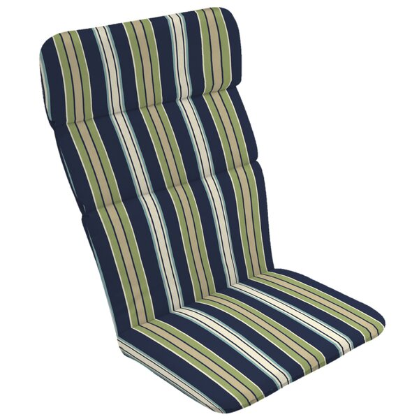 Stripe Outdoor Adirondack Chair Cushion by Rosecliff Heights