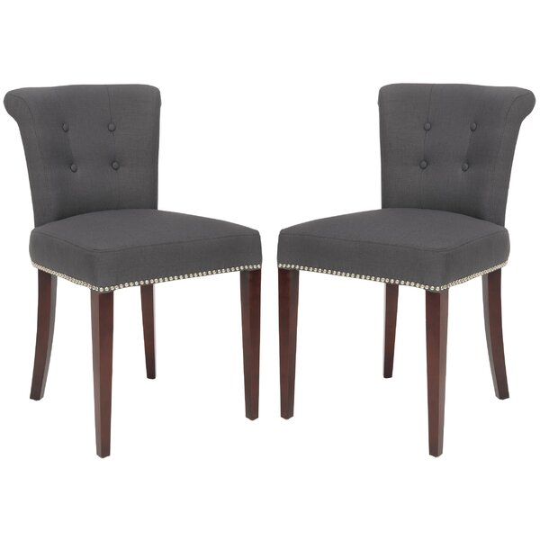Arion Ring Upholstered Dining Chair (Set of 2) by Safavieh
