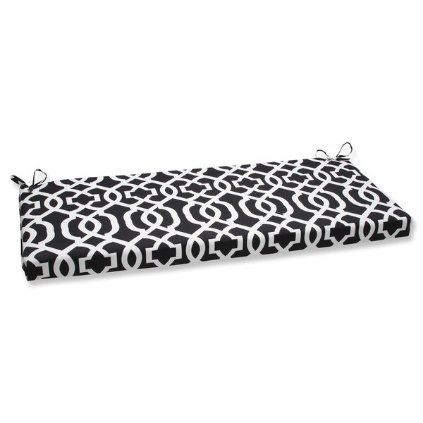 New Geo Indoor/Outdoor Bench Cushion by Pillow Perfect