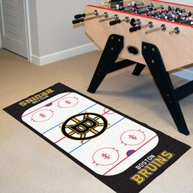 NHL - Boston Bruins Rink Runner Doormat by FANMATS