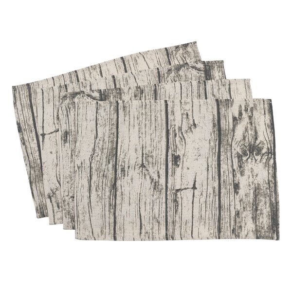 Ald Wood Plank Placemat (Set of 4) by Union Rustic
