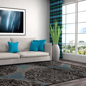 Sharen Gray/Blue Area Rug