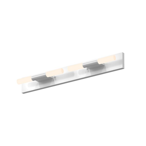 Crystal Rods 4-Light LED Bath Bar by Sonneman