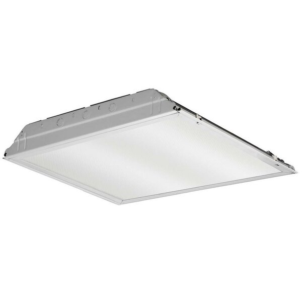 GTL Lay-In Troffer LED Semi Flush Mount with Prismatic Lens by Lithonia Lighting