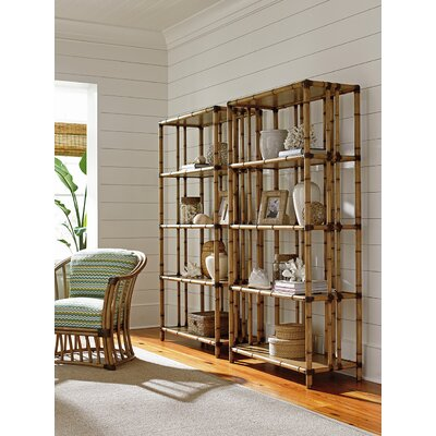 Tommy Bahama Twin Seven Seas Etagere Bookcase Bookcases