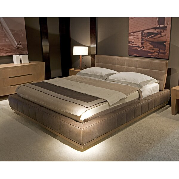 Milano Upholstered Platform Bed By Annibale Colombo by Annibale Colombo Herry Up