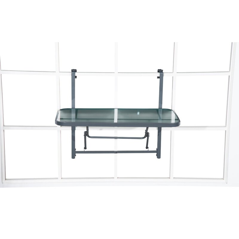 lynton garden klappbarer balkontisch ombret bewertungen. Black Bedroom Furniture Sets. Home Design Ideas