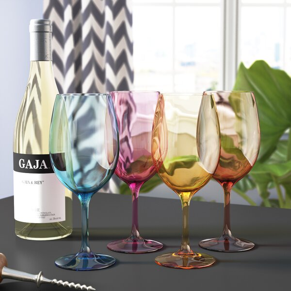 20 Oz Wine Glass Set (Set of 4) by Latitude Run