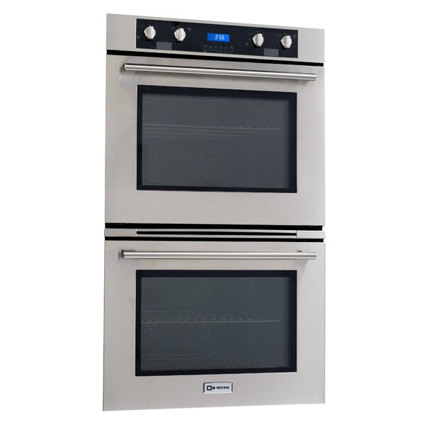 30 - Self Cleaning Electric Double Wall Oven by Verona