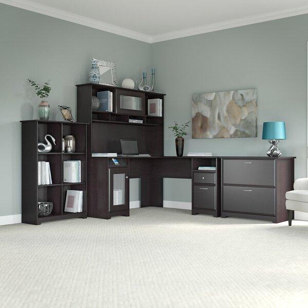 Hillsdale L-Shape Executive Desk Office Suite by Red Barrel Studio
