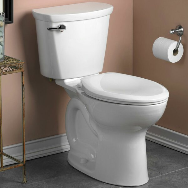 Cadet Pro Right Height 1.28 GPF Elongated Two-Piece Toilet by American Standard