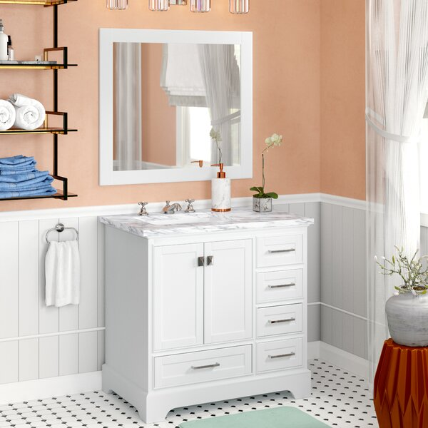 Stian 36 Single Sink Bathroom Vanity Set with Mirror by Willa Arlo Interiors