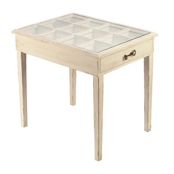 Wood Table Jewelry Box by Tripar