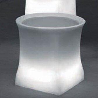 Brightness Plastic Pot Planter by 100 Essentials