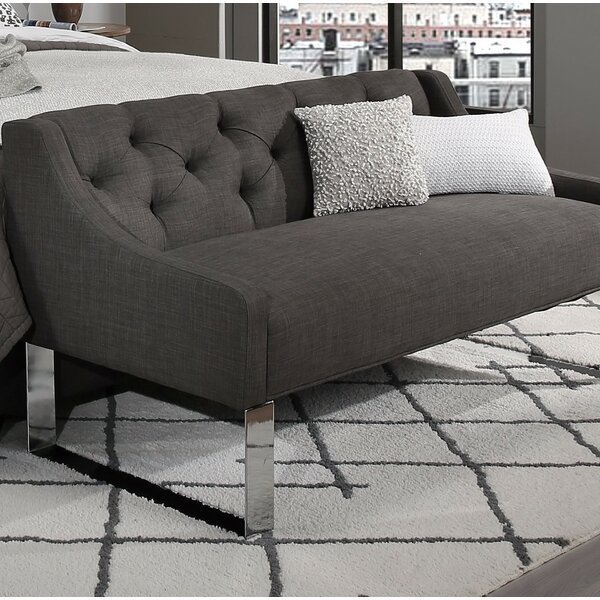 Almon Upholstered Bench by Darby Home Co Darby Home Co