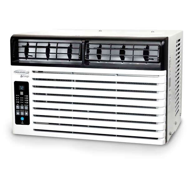 6,400 BTU Energy Star Window Air Conditioner with Remote by Soleus Air