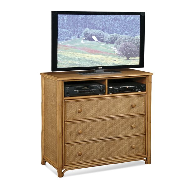 Summer Retreat Media 3 Drawer Dresser by Braxton Culler