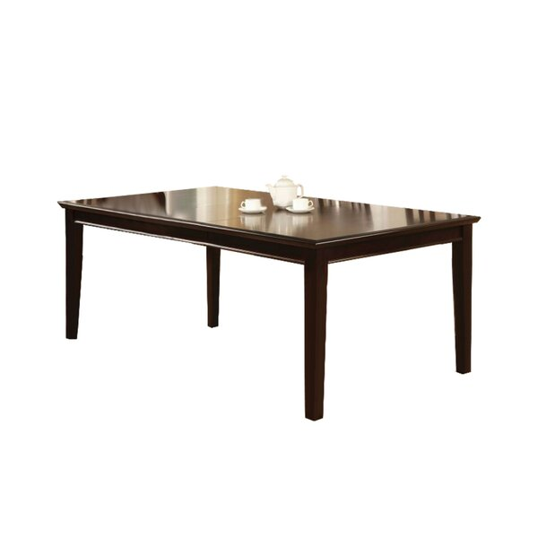 Angelica Solid Wood Dining Table by Charlton Home Charlton Home