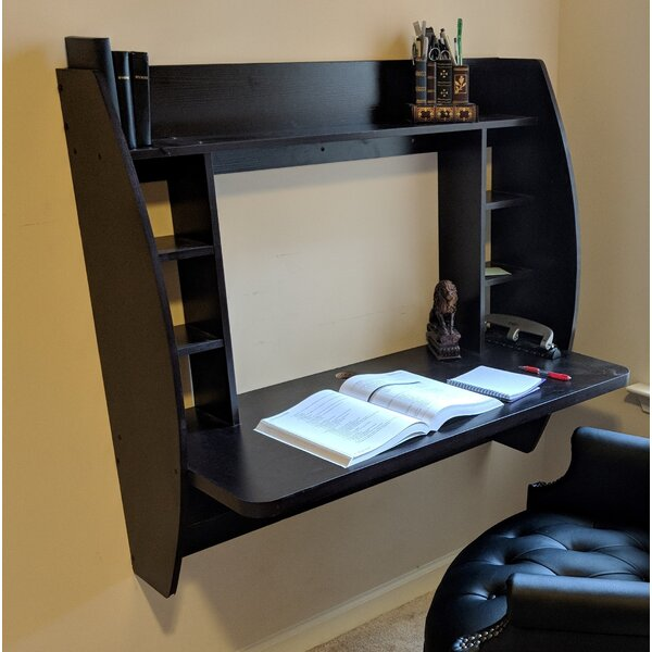 Earls Wall Mounted Floating Desk by Ebern Designs