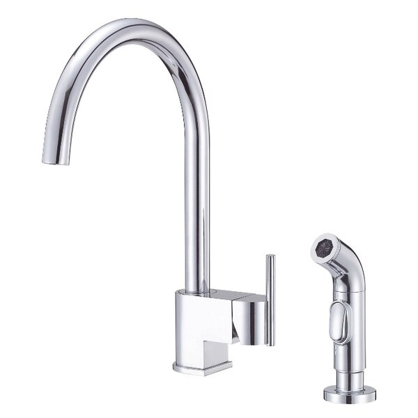 Como Single Handle Kitchen Faucet with Side Spray by Danze®
