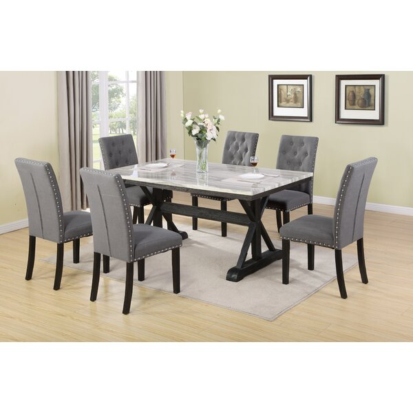 Suzann 7 Piece Dining Set by Darby Home Co