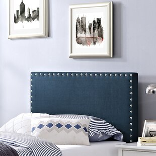 Preiss Twin Upholstered Panel Headboard by Wrought Studio