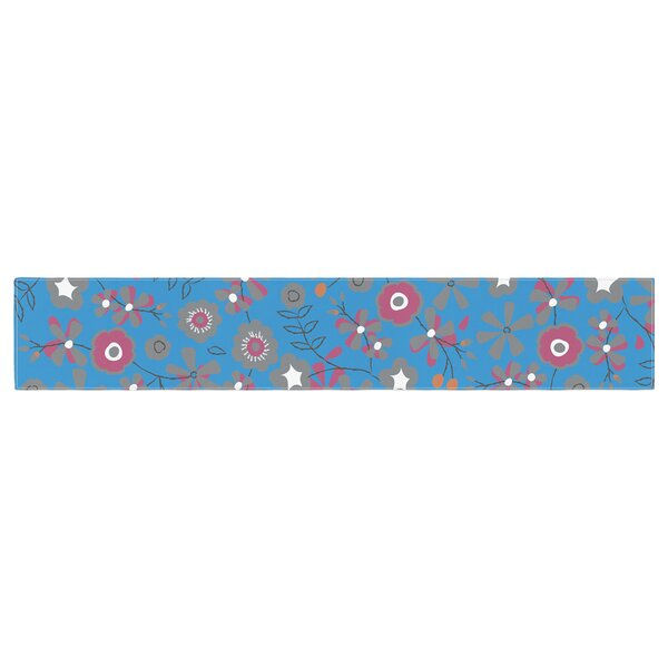 Michelle Drew Meadow Paisley Table Runner by East Urban Home