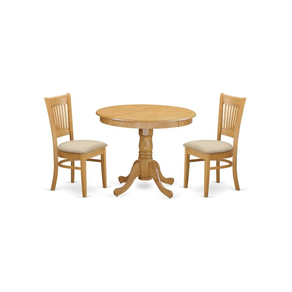 Stlouis 3 Piece Dining Set by Charlton Home Charlton Home