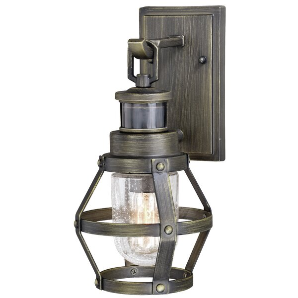 Cantara Outdoor Wall Lantern with Motion Sensor by Longshore Tides