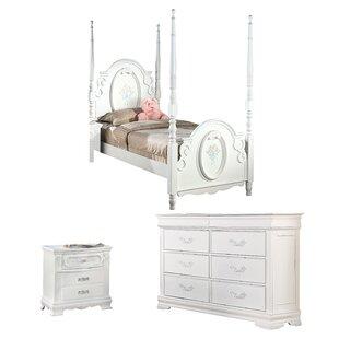 Schaub Four Poster Configurable Bedroom Set by Harriet Bee