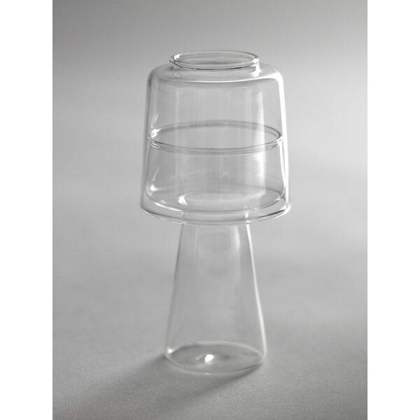 Mushroom Glass Hurricane by Orren Ellis