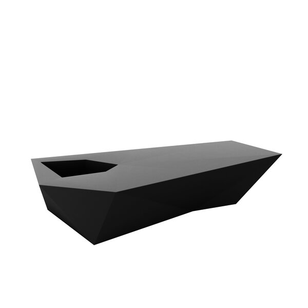 Faz Plastic Planter Bench by Vondom