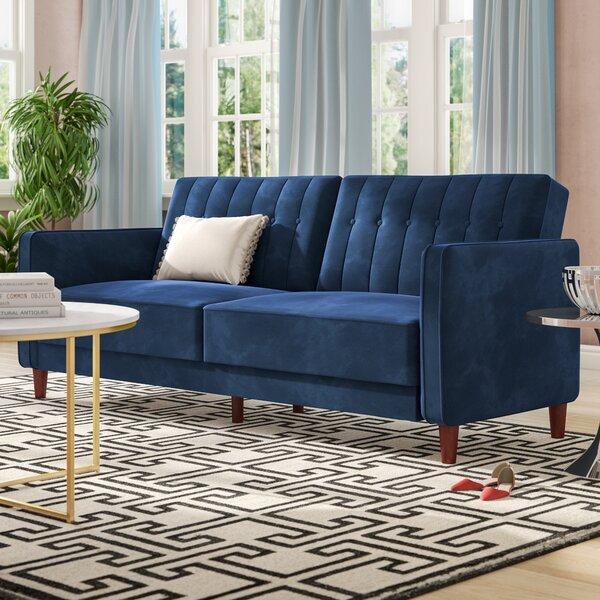 Nia Pin Tufted Convertible Sofa by Willa Arlo Inte