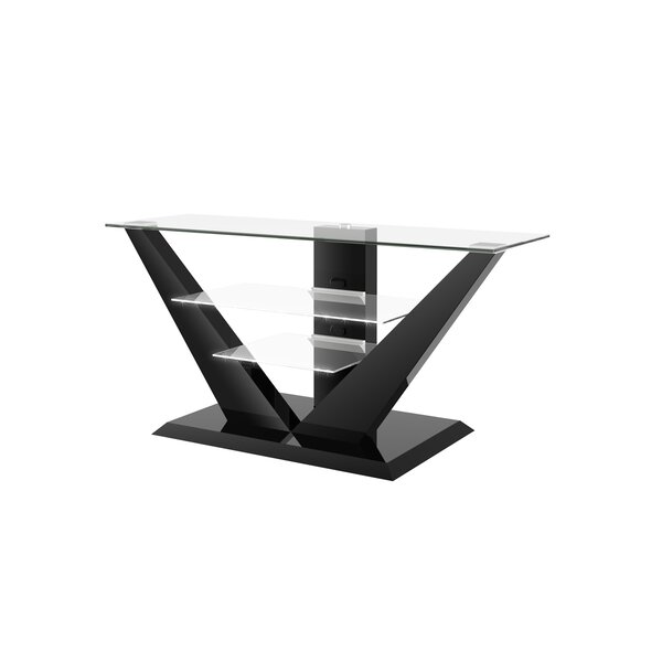 Maloy High Gloss 55.1 TV Stand by Orren Ellis